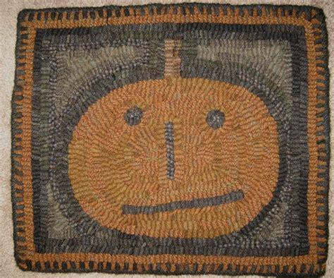 folk rug folk primitive hooked o lantern rug