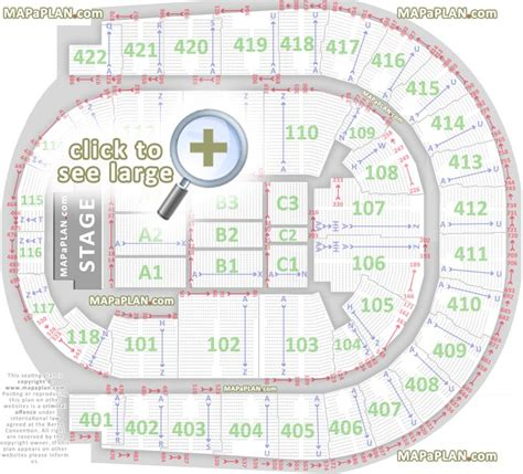 Echo Arena Floor Plan by O2 Arena London Seating Plan Detailed Seat Numbers