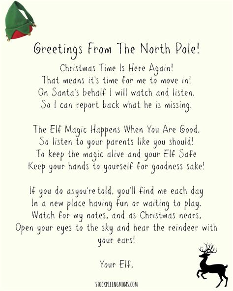 elf on the shelf letters letters and other great ideas elf on the shelf letter gplusnick