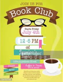 Book Club Invitation Template by Retro Womens Book Club Event Invitation Design Template