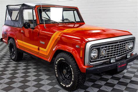 commando jeep modified pre owned 1974 jeep commando orange