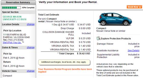 insurance rates enterprise car rental rates insurance