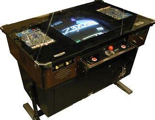 frogger cocktail table for sale zaxxon videogame by sega gremlin