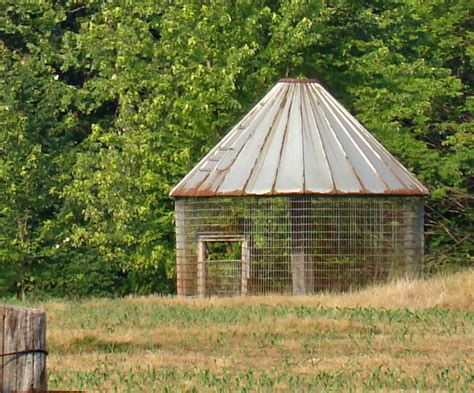 Metal Corn Crib For Sale by Rurification Corn Crib