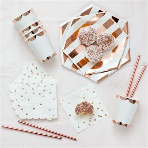rose themed paper best 25 rose gold party decorations ideas on pinterest