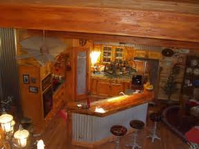 Log Cabin Kitchen Ideas Log Cabin Kitchen Home Ideas