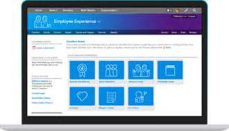 Employee Portal Template by Jive For Employee Engagement Onboarding Development