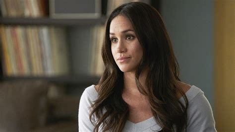 meghan markle check out exclusive clip of meghan markle on the new season of suits today