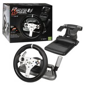 Steering Wheel For Xbox 360 With Seat Ebay Xbox 360 Race Wheel Ebay Free Engine Image For User
