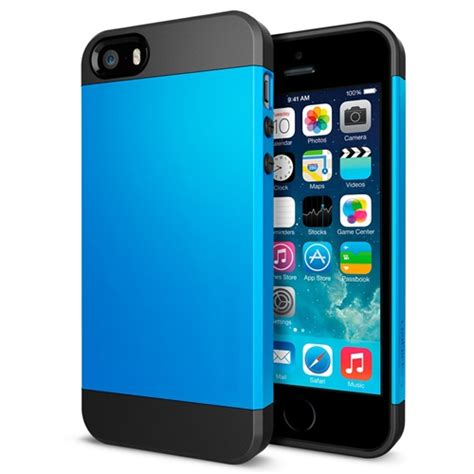 iphone 4 cases iphone 4 4s stylish slim armor rubber and tpu blue inkojet