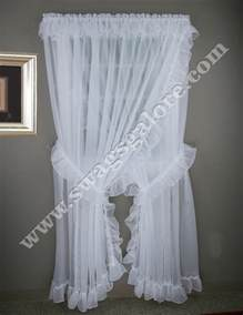 Taupe Sheer Curtains Jessica Sheer Wide Ruffled Priscilla Curtains Style