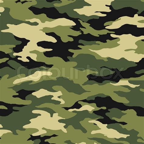 army pattern eps camouflage pattern vector stock vector colourbox
