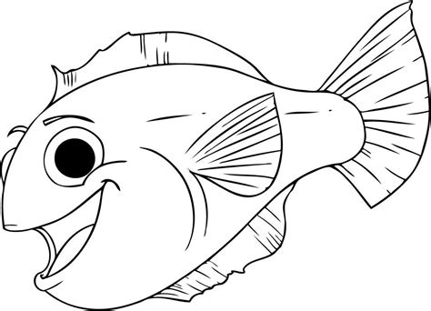 Free Fish Coloring Pages Printable fishes in fishes in sea coloring pages