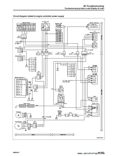 komatsu ignition switch wiring diagram universal ignition