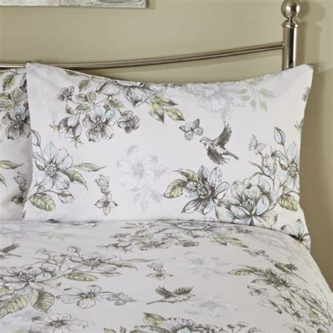 Sainsburys Bedding Set By Sainsbury S Botanical Floral Print Duvet Cover Set Duvet Covers Bedding Home Garden