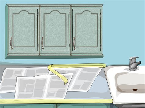 how to paint oak kitchen cabinets how to paint oak cabinets 15 steps with pictures wikihow