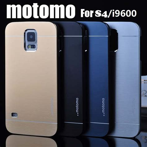 Galaxy S4 Metal By Motomo luxury metal brush cover for samsung galaxy s4