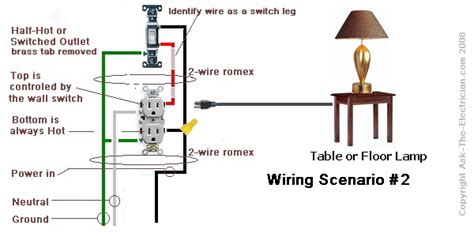 electrical how can i make an outlet switched home