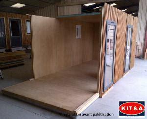 Module Bois En Kit by Module Bois En Kit Pour Construction D Abri Bureau