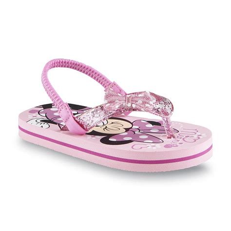 minnie mouse sandals disney toddler s minnie mouse pink slingback sandal