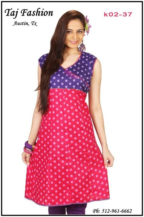 Trending Colors For Home Decor by Kurti Summer Clothing Cotton Tunics From India And