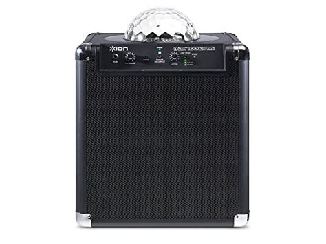 ion bluetooth speaker with lights ion audio party rocker live bluetooth speaker with party