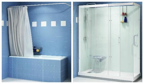 remplacer baignoire par italienne solutions pour remplacer sa baignoire par une
