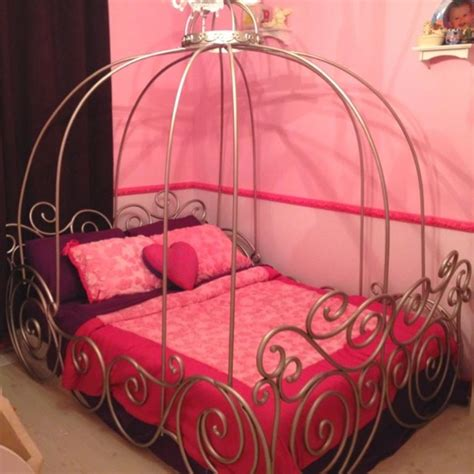 Cinderella Bed by Dreamy Cinderella Carriage Bed Designs For Rilane