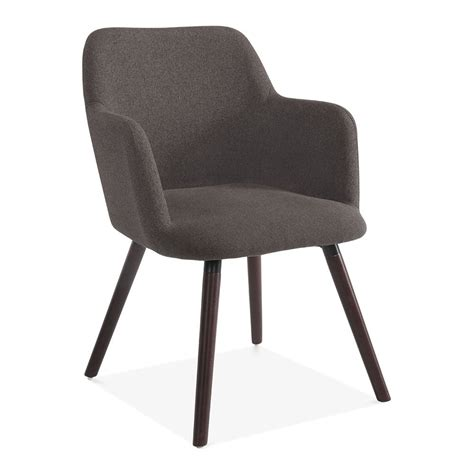 small upholstered armchair dark grey wool upholstered hanover small armchair modern