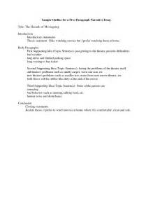 Topics For A Narrative Essay by How To Write A Narrative Essay