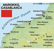 Casablanca Map Marokko Check Out