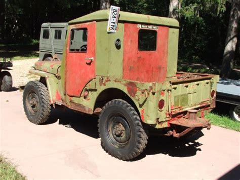 Jeep Pto 1945 Willys Jeep Cj2a Pto Capstan Winch