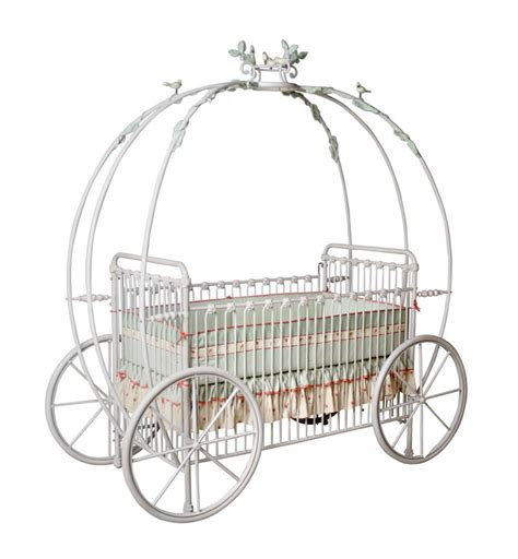 Crib And Carriage by Pumpkin Carriage Crib W Vines Birds