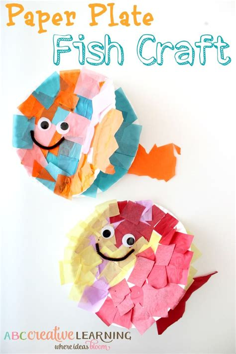 Tissue Paper Fish Craft - 15 fish craft ideas the best ideas for
