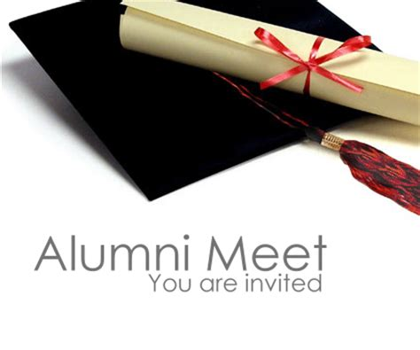 Invitation Letter For Alumni Meeting Alumni Meeting Invitation