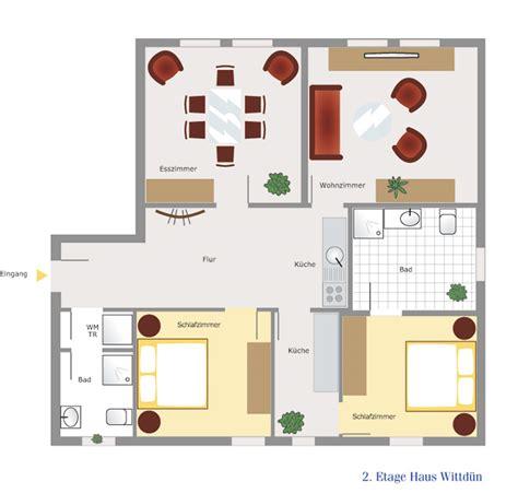 Grundriss Haus 5 Schlafzimmer by 4 Zimmer Apartment Im Damenpfad Haus Wittd 252 N
