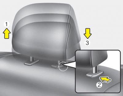 repair anti lock braking 1992 hyundai sonata seat position control service manual 2011 hyundai sonata headrest removal how do you remove the back of the front