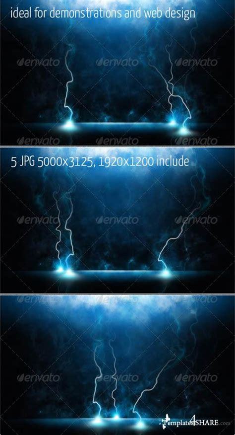 magic card template psd graphicriver magic lightning backgrounds 187 templates4share