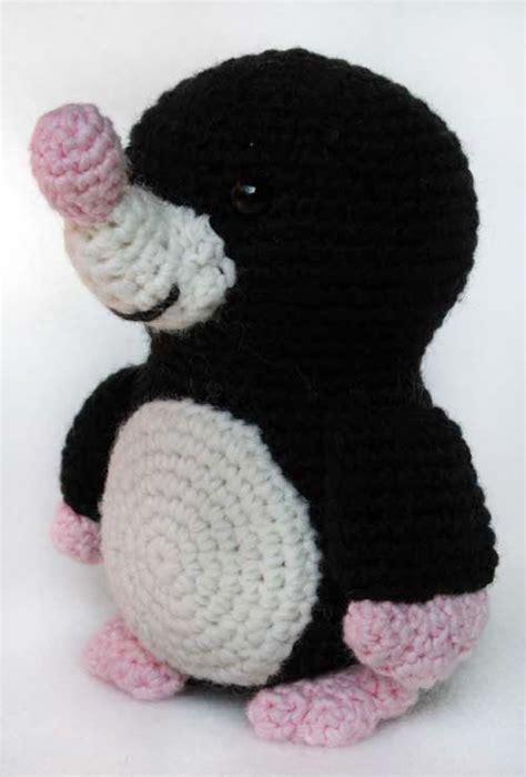 Cute Mole Pattern | mole amigurumi and free pattern on pinterest