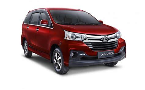Lu Mobil Daihatsu Terios Harga Daihatsu Xenia 2018 Spesifikasi Gambar Review Di