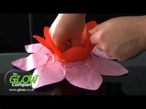 How To Make Paper Lotus Lantern - how to make a lotus wesak lantern
