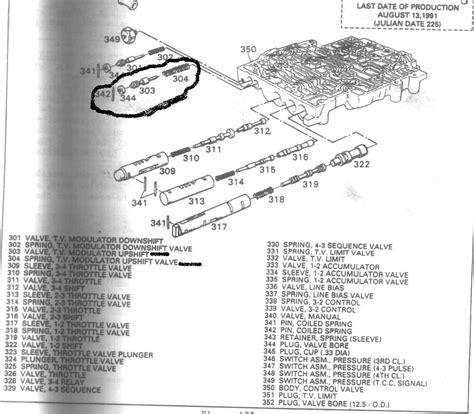 700r4 valve diagram 700r4 valve schematic sonnax gm 4l80 e
