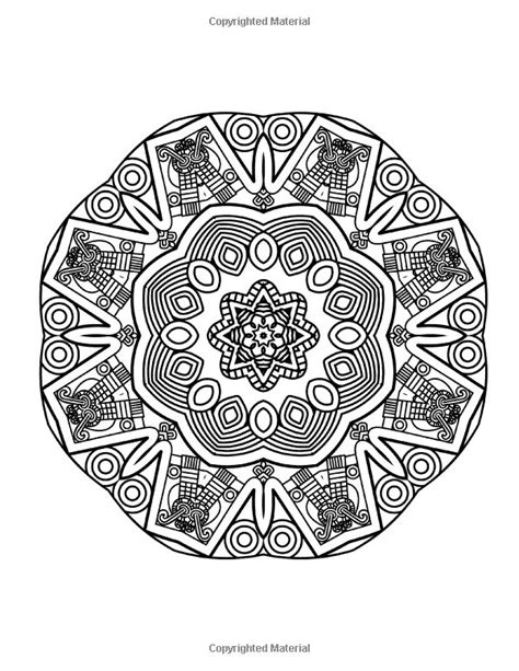 mandala coloring book for adults volume 2 1000 images about animaux on pen and ink