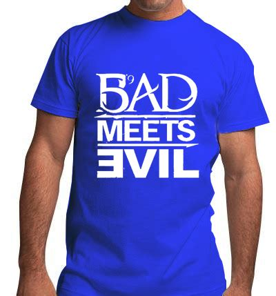 Kaos Bad Meets Evil Eminem 187 bad meets evil eminem mens t shirt