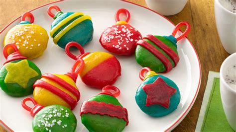 no bake cookie ornaments recipe bettycrocker