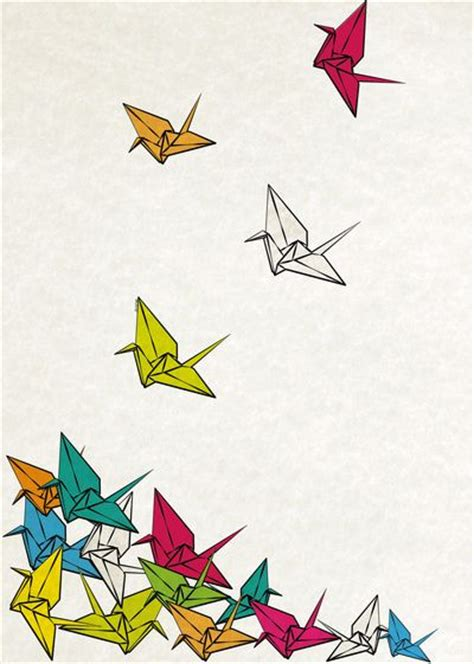 Printable Origami Crane - 1000 ideas about origami cranes on paper