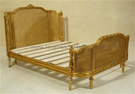 Curved Footboard Antique Bed by Rattan Bed With Curved And Footboard