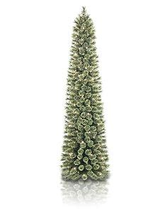 pencil trees christmas by ashland 7ft pre lit pencil artificial tree clear lights by ashland holidays