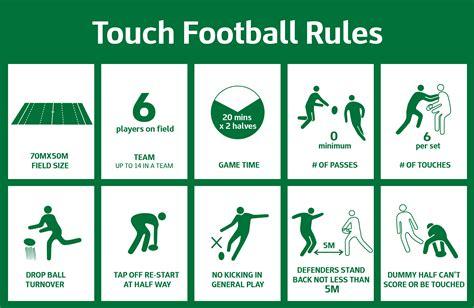 touch football basics touch football australia