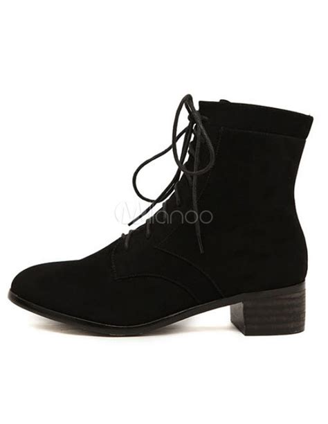 Kicker Slank Casual Suede Black 9031 9031 sweet black toe micro suede chunky ankle boots for milanoo
